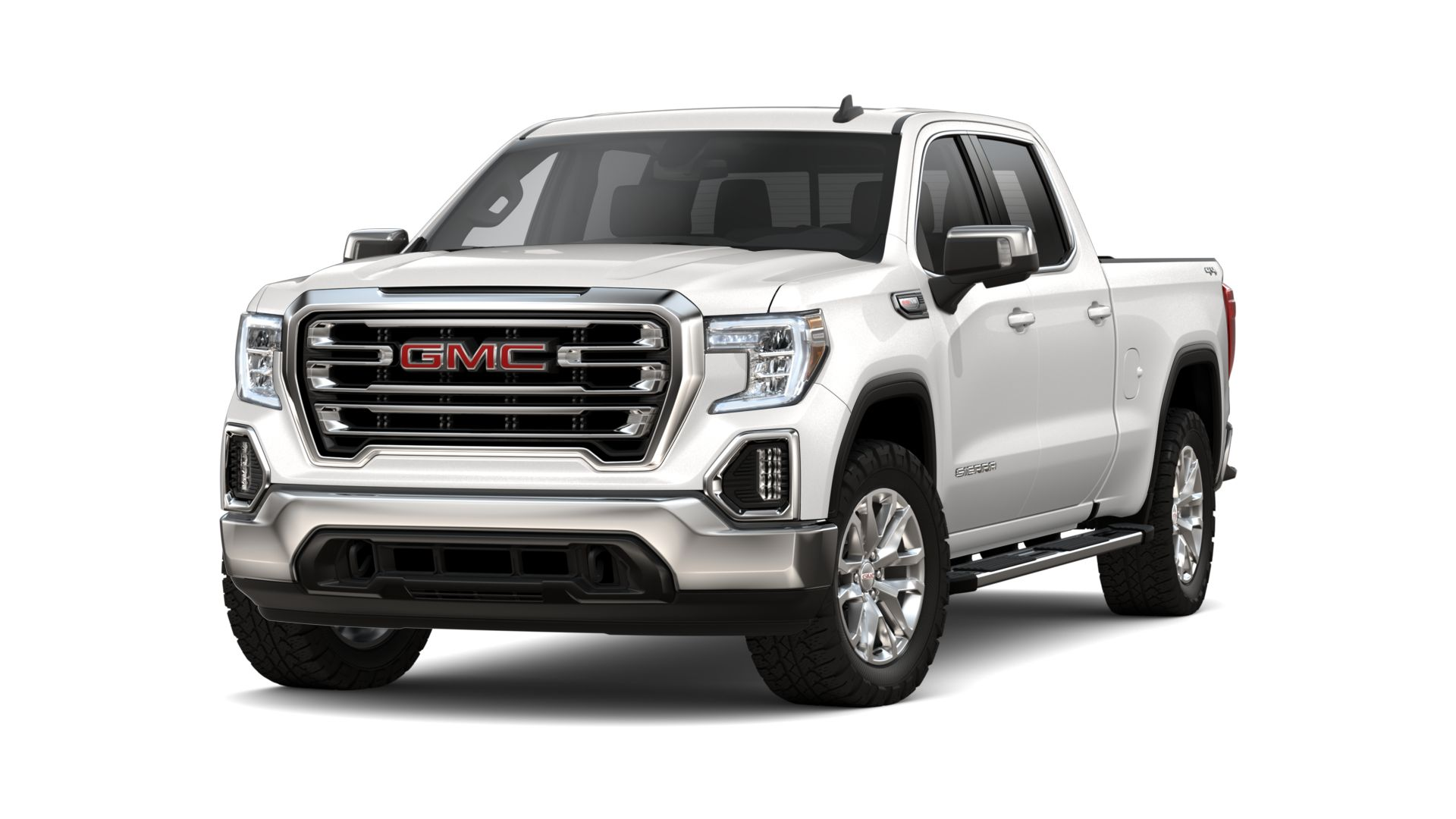 New 2020 GMC Sierra 1500 SLT FOUR WHEEL DRIVE Crew Cab