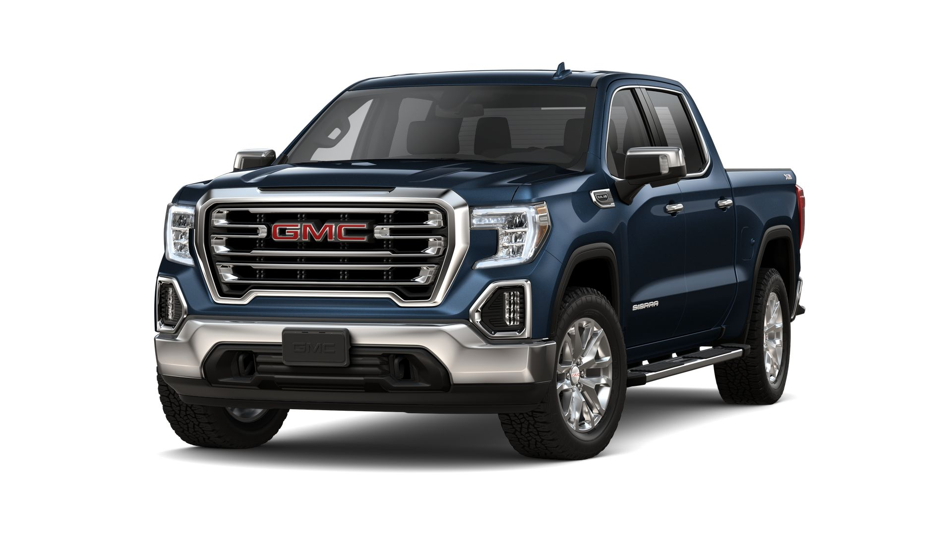 New 2021 GMC Sierra 1500 SLT FOUR WHEEL DRIVE Crew Cab
